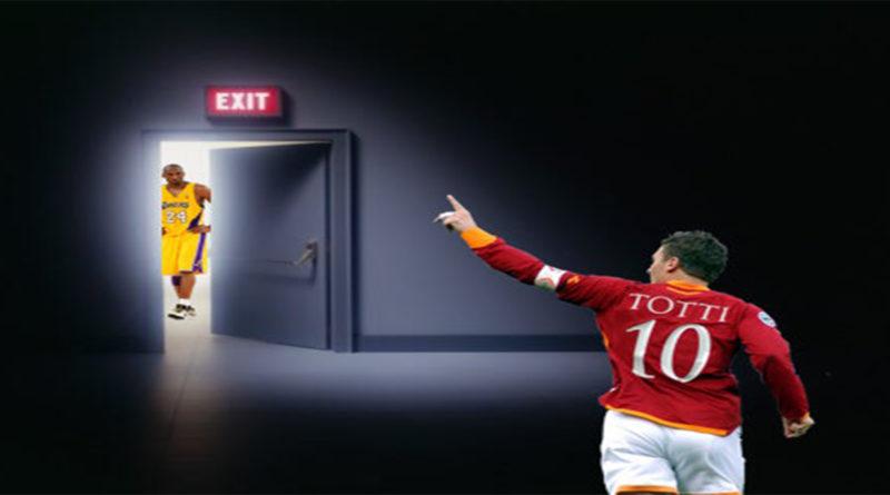 Kobe Totti addio