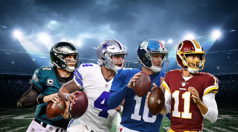 NFC East Wentz Prescott Manning Smith