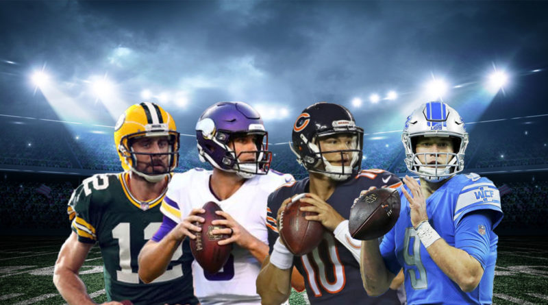 NFC North Rodgers Cousins Trubisky Stafford
