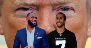 Colin Kaepernick Lebron James vs Donald Trump