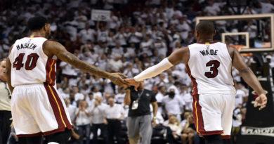 Dwyane Wade Udonis Haslem Miami Heat addio