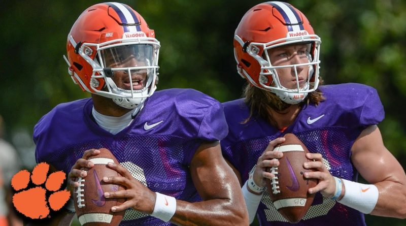 Kelly Bryant Trevor Lawrence Clemson Tigers