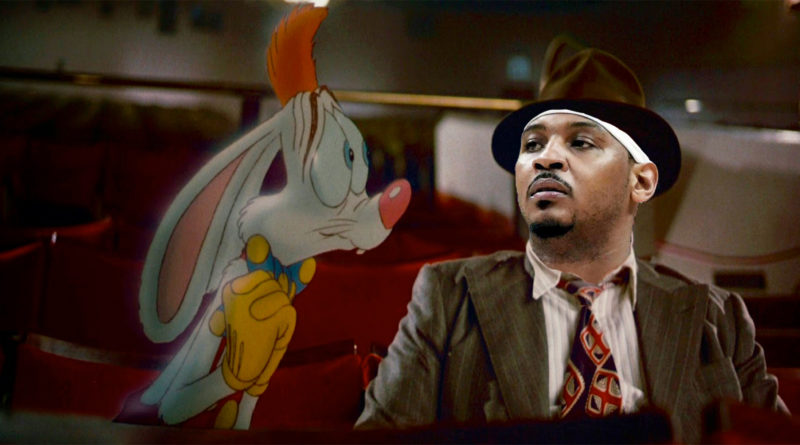 Carmelo Anthony Roger Rabbit