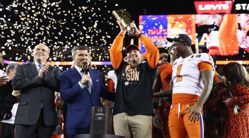 Clemson campione NCAA 2019