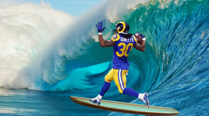 Los Angeles Rams Greatest Show on Surf