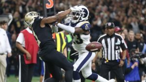 Robey-Coleman Lewis pass interference