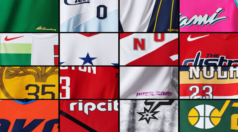 NBA Earned jersey 2018