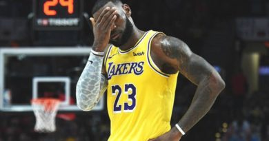 LeBron Lakers incubo