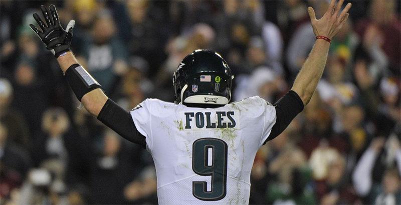 Nick Foles addio Eagles