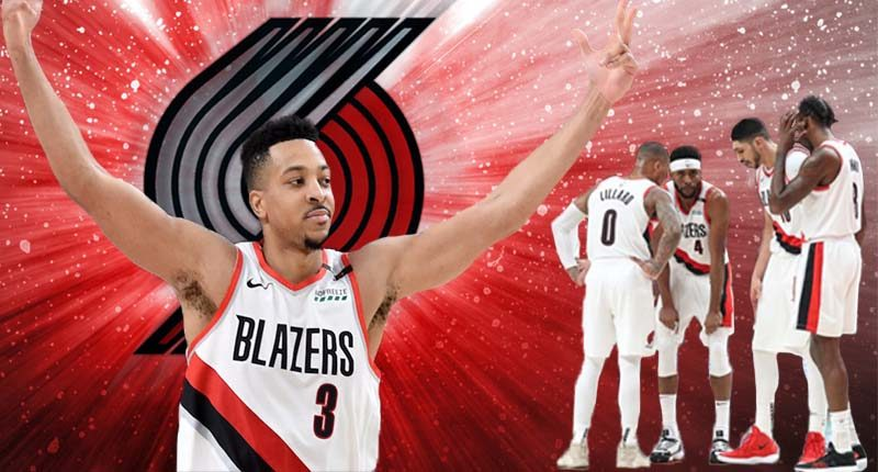 CJ McCollum Blazers playoff 2019