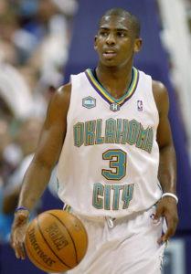 Chris Paul Oklahoma City Hornets