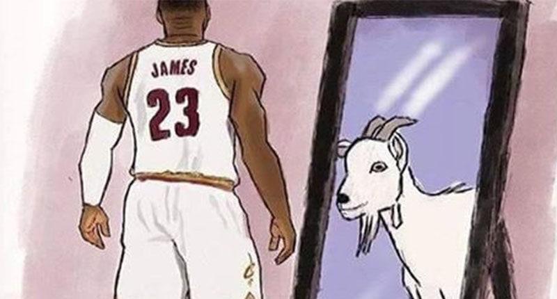 LeBron James piano stagione 2017