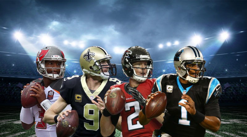 NFC South Winston Brees Ryan Newton