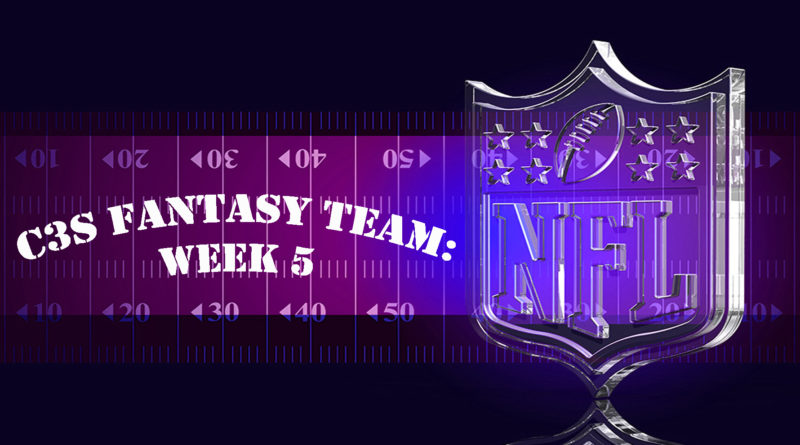 C3S Fantasy NFL Week 5