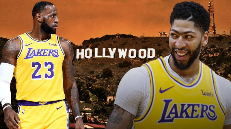 Anthony Davis LeBron James Lakers