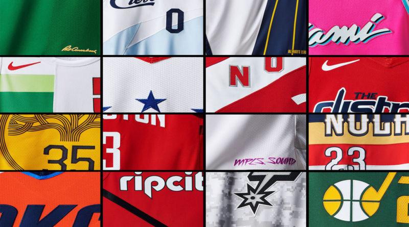 NBA Earned jersey 2018
