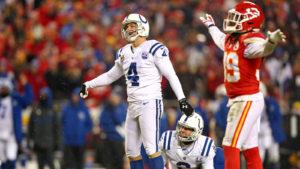 Adam Vinatieri Colts Chiefs