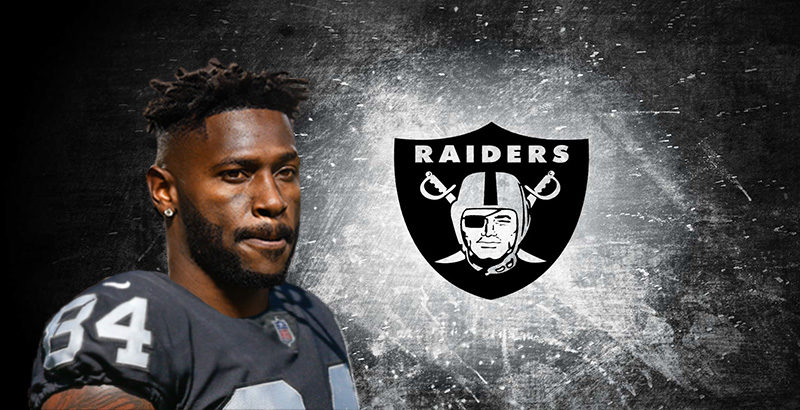 Antonio Brown Oakland Raiders trade