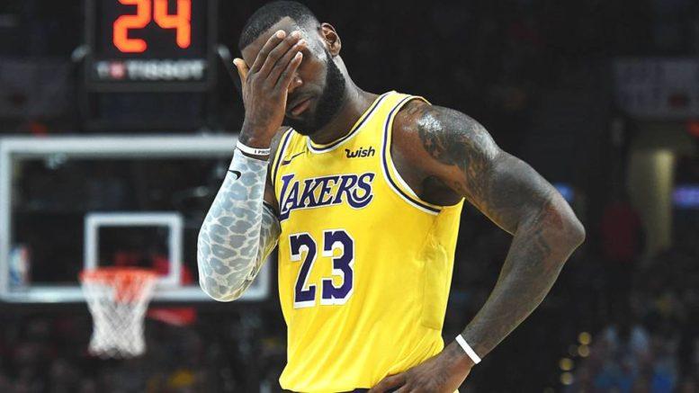 LeBron Lakers incubo