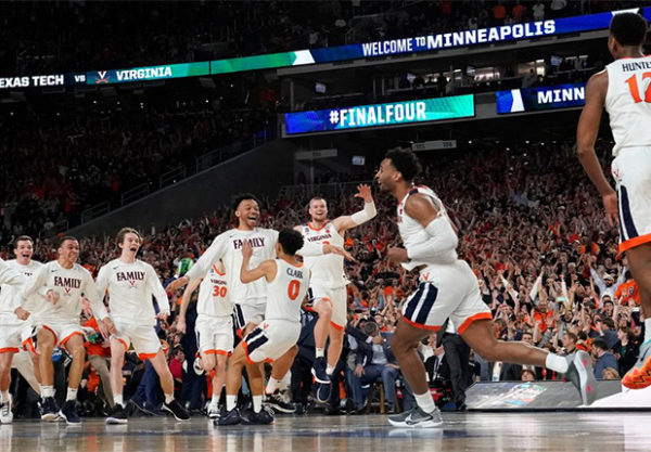 Virginia Cavaliers titolo NCAA 2019