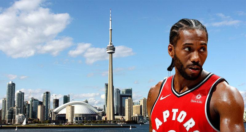 Kawhi-et Place Leonard Toronto Raptors