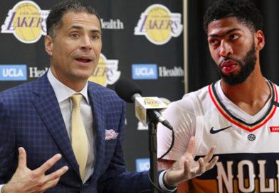 Lakers Pelinka trade Anthony Davis