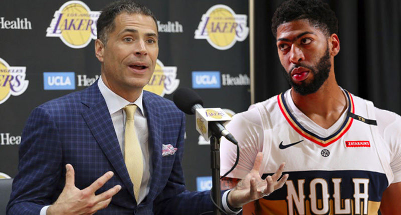 Lakers Pelinka trade Anthony Davis